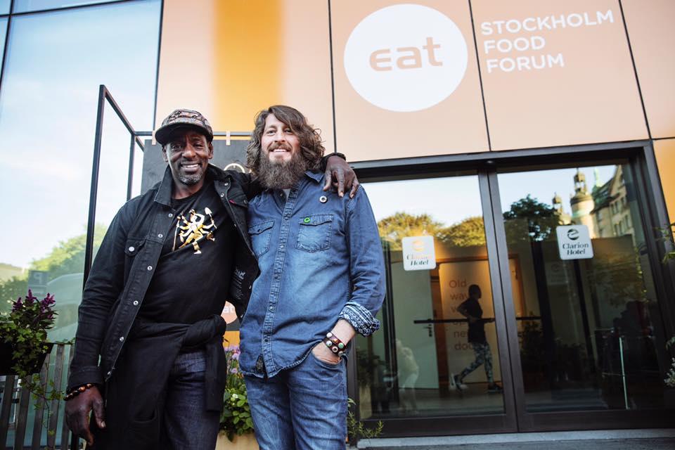 Marc @EAT Stockholm Food Forum