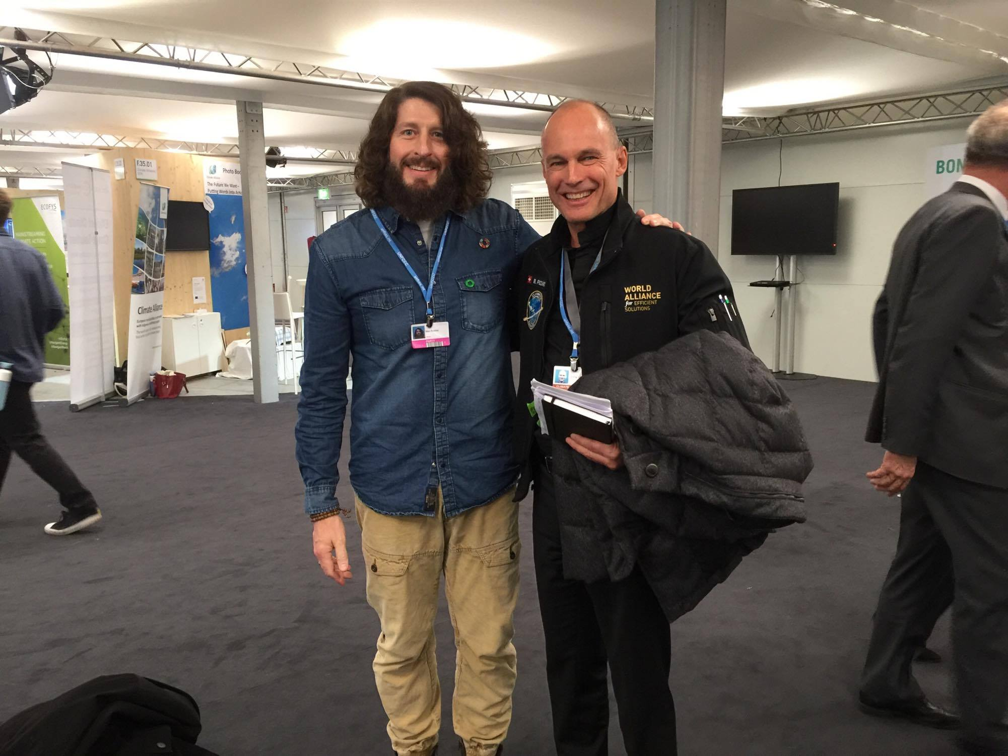 Marc & Bertrand Piccard @COP23