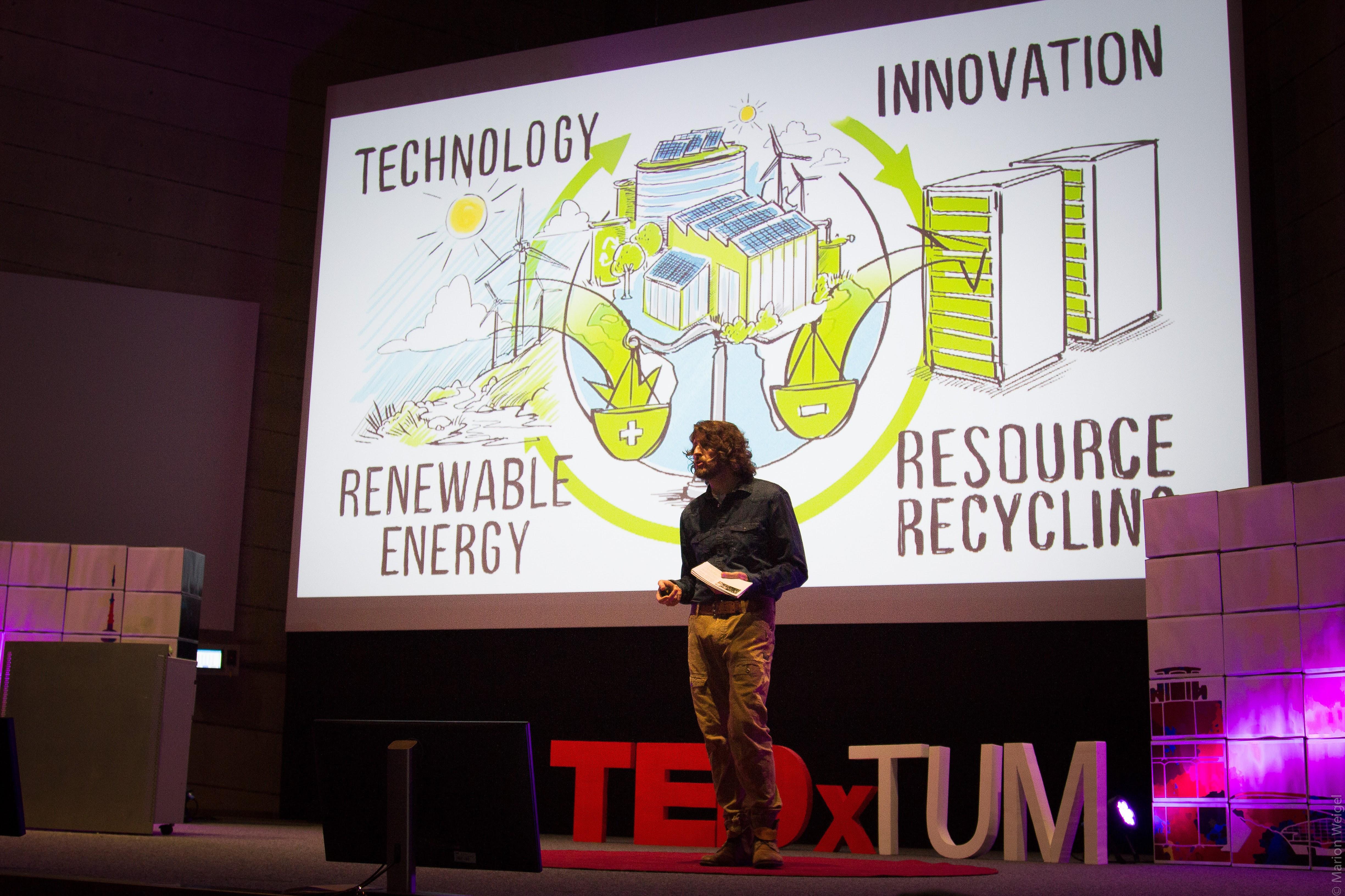Marc @TEDx TUM